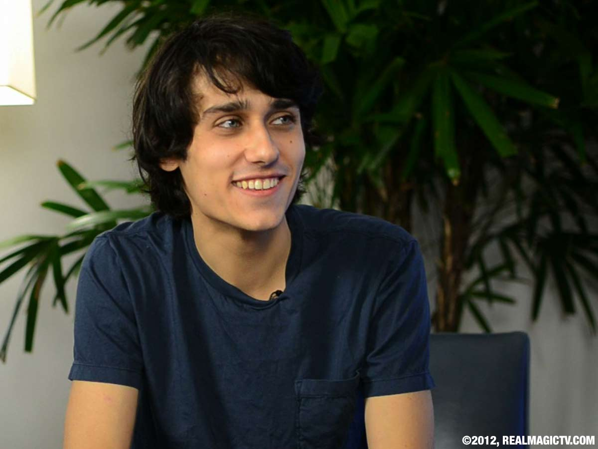 TEDDY GEIGER on Real Magic TV