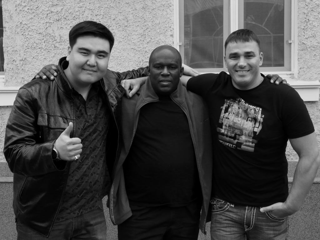 Yerzhan Kabdullin, Kirill Andreev and Mr.Double A.D